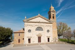 Sanctuary of the Madonna del Soccorso SS Royalty Free Stock Image