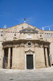 Sanctuary of Madonna della Misericordia. Macerata. Stock Photos