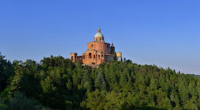 Sanctuary of the Madonna di San Luca Royalty Free Stock Photo