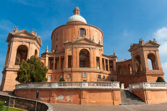 Sanctuary of the Madonna di San Luca. Bologna, Italy Stock Image