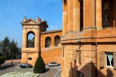 Sanctuary of the Madonna di San Luca Stock Photos