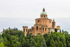 Sanctuary of the Madonna di San Luca, Bologna, Italy stock images