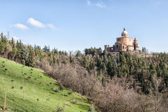 Sanctuary of the Madonna di San Luca Stock Images