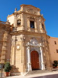 Sanctuary of Madonna of the Lightning, Marsala, Sicily, Italy Stock Photography