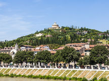 Sanctuary of the Madonna of Lourde, Verona, Italy Royalty Free Stock Image