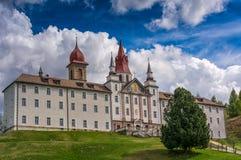 Sanctuary Madonna of Pietralba, South Tyrol, Italy Stock Image