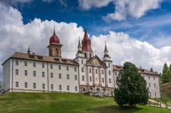 Sanctuary Madonna of Pietralba, South Tyrol, Italy Stock Photo