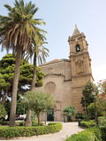 Sanctuary of Madonna of Trapani, Sicily, Italy royalty free stock photos