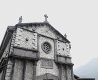 Sanctuary of Magdalene. Bienno, Italy Royalty Free Stock Image