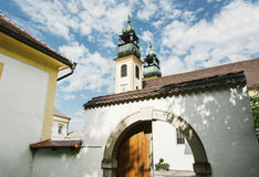 Sanctuary Mariahilf in Passau, Germany, cultural heritage Royalty Free Stock Photography