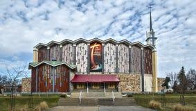Sanctuary Marie-Reine-des-Cœurs Royalty Free Stock Photography