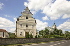 Sanctuary of Mary Magdalene in Bilgoraj. Poland Stock Photography