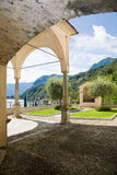 Sanctuary, Menaggio, Como Lake Stock Images
