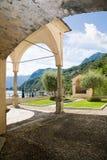 Sanctuary, Menaggio, Como Lake Stock Images
