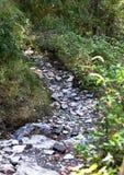 Sanctuary of Mentorella. Mentorella trail.  Lazio, Italy. Landmark, mountains. Path,  road to mountain Royalty Free Stock Image