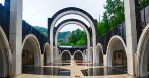 Sanctuary of Meritxell,  Andorra Royalty Free Stock Photography