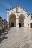 Sanctuary of Monte Sant'Angelo. Puglia. Italy. Royalty Free Stock Photo