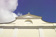 Sanctuary of montenero Royalty Free Stock Photos