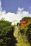 Sanctuary of montenero Royalty Free Stock Photography