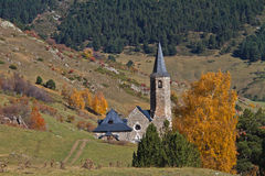 Sanctuary of Montgarri, Valle de Aran, Spain Royalty Free Stock Photography