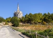 Sanctuary of Montserrat in Montferri, Tarragona, Catalonia. Stock Images