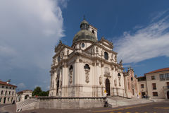 Sanctuary of Mother Mary in Monte Berico Vicenza Royalty Free Stock Photography