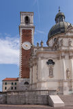 Sanctuary of Mother Mary in Monte Berico Vicenza Royalty Free Stock Photo