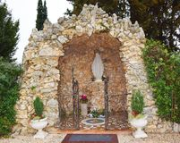 Sanctuary, north Italy Stock Photo