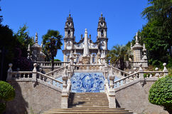 Sanctuary of Nossa Senhora dos Remedios Royalty Free Stock Photos
