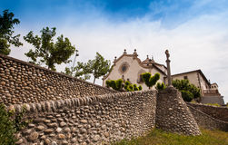 The Sanctuary of Nostre Senyora Royalty Free Stock Photo