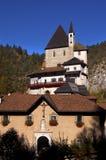 Sanctuary Of San Romedio - Trento Italy Stock Photos