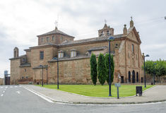 Sanctuary of Our Lady of Carmen, Calahorra. Stock Image