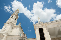 Sanctuary of Our Lady of Fatima - Portugal. Sanctuary of Our Lady of Fatima in Portugal Stock Image
