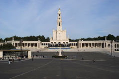Sanctuary of Our Lady of Fátima Royalty Free Stock Photo