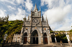 Sanctuary of Our Lady, Las Lajas, Colombia Stock Image