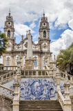 Sanctuary of Our Lady of Remedios in Lamego Royalty Free Stock Images