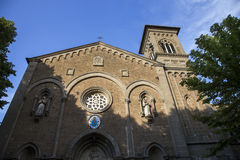 Sanctuary in the province of Viterbo in Italy Royalty Free Stock Photos