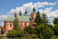 Sanctuary in Radecznica Stock Photography