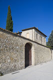 Sanctuary of Saint Maria in Rivotorto. Umbria. Royalty Free Stock Image