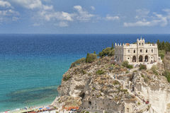 Sanctuary of saint maria of tropea Stock Images