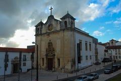 The Sanctuary. In Coimbra called Sé Nova Stock Images