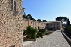 Sanctuary Sant Honorat,island Majorca Royalty Free Stock Images