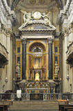 Sanctuary of Santa Maria della Vita in Bologna Italy. Image was taken on June 2011 Royalty Free Stock Photos