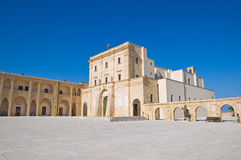 Sanctuary of Santa Maria di Leuca. Puglia. Italy. Royalty Free Stock Photos