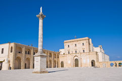 Sanctuary of Santa Maria di Leuca. Puglia. Italy. Royalty Free Stock Photo
