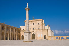 Sanctuary of Santa Maria di Leuca. Puglia. Italy. Stock Photography
