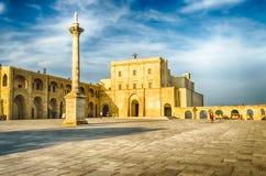 Sanctuary of Santa Maria di Leuca, Salento, Apulia, Italy Royalty Free Stock Image