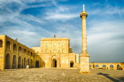 Sanctuary of Santa Maria di Leuca, Salento, Apulia, Italy Stock Images