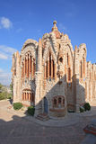 Sanctuary of Santa Maria Magdalena details in Novelda, Spain. Royalty Free Stock Photography
