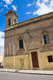 Sanctuary of SS. Cosma e Damiano. Ugento. Puglia. Italy. Royalty Free Stock Photos